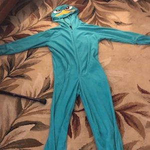 Phineas and Ferb Costume Onesie
